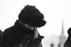 «Social networks» (nonnull) Tags: russia moscow street streetphoto streetnotes blackandwhite noiretblanc monochrome monotone bnwmood bnwfilm bnw bw streetphotobw bwfp ilfordhp5plus400 ilfordhp5 filmphotography filmphoto filmisnotdead filmtype135 film pentaxmz7 pentax printbypro barhatovcom noritsuls1100 xtol ru people citywalks winter россия москва люди городскиезаметки город пленка фотопленка чб чернобелое наблюдатель масленица shrovetide girl 2018
