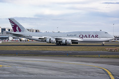 QAF1_QatarAmiri_B747-8I_A7HHE_EBBR_MARCH2018 (Yannick VP) Tags: military governmental royal presidential passenger pax transport vip vvip jetliner airliner qaf qatar amiri airforce boeing b747 b748 b7478 intercontinental a7hhe qaf1 statevisit headofstate qataremir brussels airport bru ebbr belgium be bel europe eu march 2018 rwy25r airplane aircraft jet