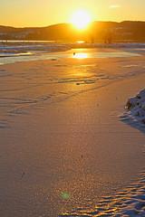 Sunset (pelnit) Tags: sunset pelnit norge norway solnedgang is ice water vann fetsund lensemusset fetsundlenser