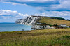 Freshwater Bay, Isle of Wight (Gajan Perampalam) Tags: freshwaterbay isleofwight sea sky landscape mountain water grass bay
