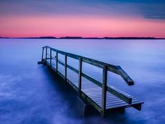 My favorite jetty - Explore (Jarno Nurminen) Tags: lauttasaari helsinki finland longexposure seascape shore pier jetty sky clouds twilight sunset