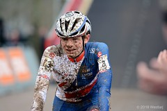 DSC_3365 (Westlarj Sport) Tags: 2018 british cx cyclocross limburg valkenburg worldchampionships netherlands saturday worldchampion juniormen westlarjsport bentulett teamgb hernehill herne hill youth cycling club hhycc