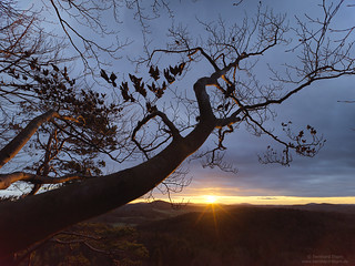 Sunset at Höhenglücksteig N°6