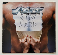 A0514 RAVEN Stay Hard (vinylmeister) Tags: vinylrecords albumcoverphotos heavymetal thrashmetal deathmetal blackmetal vinyl schallplatte disque gramophone album