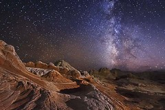 White Pockets Milky Way (McKendrickPhotography.com) Tags: milkyway nightscapes sandstone desert arisonia aphotographersnature
