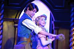 Flynn & Rapunzel (The Disney Marine) Tags: disneyland disney princess rapunzel flynn rider royal theatre tangled fantasy faire