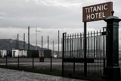 Vacancy (strobebelfast) Tags: belfast northernireland colour titanicquarter titanichotel metal sign 2017 industrial industry hotel strobebelfast davidbuchanan