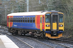 East Midlands Trains 153381 @ Kidsgrove (uksean13) Tags: eastmidlandstrains 153381 diesel train railway rail canon 760d kidsgrove ef70200mmf4lusm