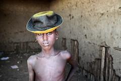 ethiopia - omo valley (mauriziopeddis) Tags: omo valley dassanech people etiopia ethiopia africa tribe tribal street portrait ritratto children village canon reportage