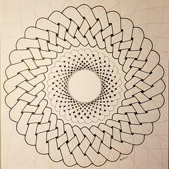 20180129_155235 (regolo54) Tags: celticknot celtic knots geometry symmetry mathart regolo54 circle disk torso torus