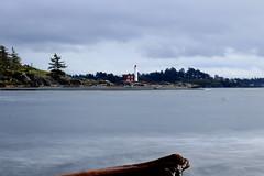 Fort Rodd lighthouse (susiegooze) Tags: vancouverisland esquimaltlagoon longexposure