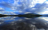 Every Day Norway Bathing in Reflected Glory (Eye of Brice Retailleau) Tags: angle beauty composition landscape nature outdoor panorama paysage perspective scenery scenic view extérieur ciel sky backpacking earth mountain mountains travel vista sunset reflection reflet mirror colourful colours clouds light blue europe norway norge norvege cloudscape water waterscape lake