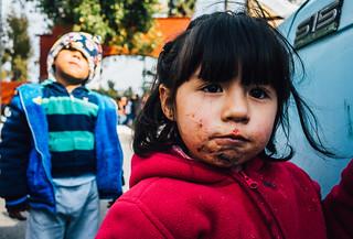 Street portrait in Mexico City