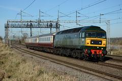 47501 Heamies Farm 07/02/2018 (Brad Joyce 37) Tags: 47501 class47 craftsman sulzer brush spoon locomotive engine train ecs 5z71 heamiesfarm staffordshire sunshine bluesky nikon d7100