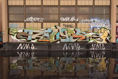RELAX SOWEK (TheGraffitiHunters) Tags: sowek graffiti graff spray paint street art colorful pa philly philadelphia rooftop abandoned bando school building relax character