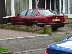 1991 BMW 525i SE Auto (Neil's classics) Tags: vehicle car 1991 bmw 525i e34