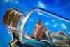 Macro Monday: In a Bottle (klickpix70) Tags: macro hmm stillleben mini toy spielzeug toys tabletop h0scale d7200 preiser h0 photography humor funny lol spass railway figures indoor macromondays inabottle bottle journey tinnypeople stilleben miniature littleworld flasche lockedbottle bokeh