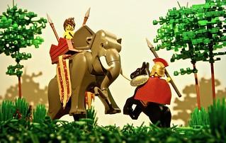 Alexander and Porus - 326 B.C.