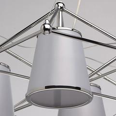 Lustre Megapolis Chrome 6 X 60W (emmanuel_delahaye) Tags: lustres mobilier deco chiaro recollection decointerior interiordesign design home luminaires suspensions lu