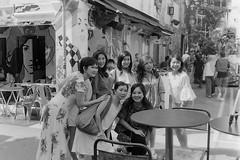 Haji Lane 10 (ezekielkokyp) Tags: rollei 35 rollei35 singapore haji lane hajilane analog film filmphotography istillshootfilm filmisnotdead bw street kodak mustvisit tourists homedeveloped blackandwhite compact