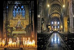 Dans la Basilique Notre-Dame (Basiliek van Onze Lieve Vrouwe) Maastricht, Limbourg, Nederland, Pays-Bas (claude lina) Tags: claudelina nederland paysbas hollande maastricht ville town église church bougies basiliquenotredame basiliekvanonzelievevrouwe