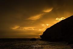 Golden hour ️ (Pastel Frames Photography) Tags: spain villajoyosa amazingsunset sunet goldenhour canon5dmark3 canon1635mm amazingsky mediterraneansea seascapephotography photography sun travel