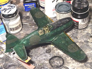 1:72 Mitsubishi J2M3 'Raiden' (Allied Codename 'Jack'); aircraft 'BI-02', operated by the Allied Technical Air Intelligence Unit - Southeast Asia (ATAIU-SEA); RAF Seletar (Singapore), Dec. 1945 (modified 1977 Hasegawa kit) - WiP