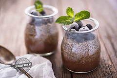 Three layers chia pudding with coffee (vanilllaph) Tags: chia pudding recipe foodstyle foodstiling fppdphotography eat eating breakfast