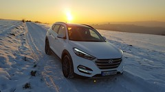Hyundai Tucson (Combat-Camera-Europe) Tags: hyundai tucson car cars pkw awd 4x4 suv hundaitucson hyundaitucson20 winter allrad weis schnee winterbild deutschland koreaner continental reifen felgen
