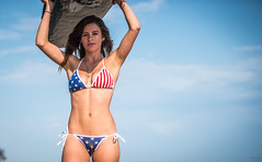 Happy 4th of July American Flag Bikini Swimsuit Model Red, White, and Blue Bikini! Golden Ratio Composition Photography Surf Goddesses! Athletic Action Portraits Swimsuit Bikini Models! Helen, and Aphrodite! Athletic Fitness Models! dx4/dt=ic (45SURF Hero's Odyssey Mythology Landscapes & Godde) Tags: notes matador swimsuit malibu model beautiful golden ratio composition photography surf goddesses athletic action portraits bikini models athena aphrodite gold 45 beach muholland manhattan usa1 fine art lingerie goddess ltd theory dx4dtic the birth venus beautful hot sexy sun sand gorgeous american flag