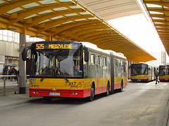 Solbus Solcity SM18LNG, #7307, MZA Warszawa (transport131) Tags: bus autobus mza warszawa ztm warsaw wtp solbus solcity sm18lng