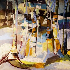 landscape...forest.... (Anita Thomhave Simonsen) Tags: anitathomhavesimonsen landscape forrest acrylic painting