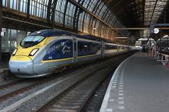 Eurostar 4031/4032 te Amsterdam Centraal (daniel_de_vries01) Tags: eurostar 4031 4032 te amsterdam centraal