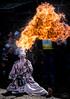 Soba 11 - Ichiro, the Puppet Man. (mckenart) Tags: callingtonmill japan oatlands noodles sobafestival streetphotography streettheatre japanesearts tasmania australia