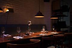 Homa (trinidalitism) Tags: canon canoneos6d sigma sigma35mmart homa restaurant interior interiordesign light lightning shadow table finedining cotton design