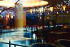 sur l'eau ;) (8pl) Tags: canards tables chaises restaurant reflection reflets matin bleu lumières luminaires guirlande arbre bihać