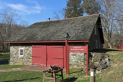 Jerusalem Mill ~ Blacksmith shop (karma (Karen)) Tags: jerusalemmill harfordco maryland mdstateparks gunpowderfallssp blacksmithshop stonework walls windows hww nrhp cmwd