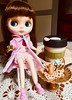 BaD Jan 8 - Hot Coffee (lyndell23) Tags: blythedoll blytheaday photochallenge welcomewinterblythe