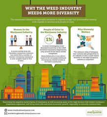 Why The Weed Industry Needs More Diversity (Medicalmarijuana.com) Tags: marijuana marijuanabiz marijuanaindustry medicalmarijuana cannabis cannabiz cannabisindustry healingplant hemp