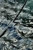 l'eau de là (tableaux.imaginaires) Tags: water eau reflection reflet ténèbres corde rope dark waves vague mer abstract tableauimaginaire sea