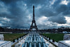 Paris Trocadéro (Instant Photography Landscapes) Tags: cityscapes bleu paris tour eiffel towers nikon tourisme