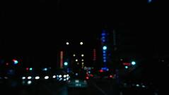 Futurish (beray.ince) Tags: night road city sky blur car intersection building cityscape urban street neon lowlight iso photography photographer photo izmir turkey