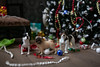 Crime Scene (firrist) Tags: 16scale toypets tiny dog frenchie pug diorama