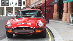For Real Gentlemen (Beyond Speed) Tags: jaguar etype supercar supercars cars car carspotting nikon v12 red classic automotive automobili auto automobile uk london mayfair