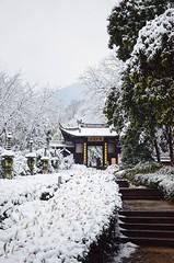 杭州雪景之永福禅寺 (EndlessJune) Tags: tree landscape travel beautiful temple snow zhejiang china hangzhou