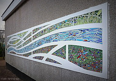 The Wall (Rollingstone1) Tags: aberdeen duthiepark shelaghswanson mosaic wall building art artwork colour vivid tile photoart