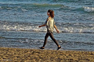 Walk on the beaches of Catalonia