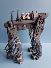 Lego Star Wars UCS AT-M6 (kozikyo86) Tags: lego star wars atm6 first order moc 75189 last jedi force awakens crait walker gorilla bricks designer stormtrooper