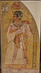 ... The Deified Pharaoh Amenhotep I, From A Tomb, Ca.