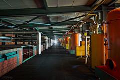 Rainbow Diesel (Hélène Lili) Tags: urbex urban exploration urbaine lost places usine farm factory diesel colors couleurs nb bw old decay explorer doraurbex teamlili canon 100d